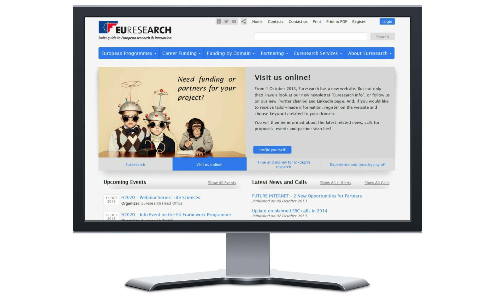 Euresearch Mockup