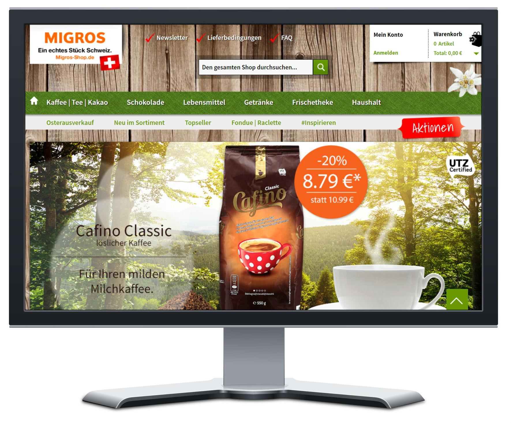 Migros-Shop Mockup